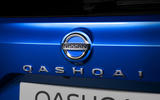 92 Nissan Qashqai 2021 official reveal rear badge