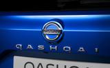92 Nissan Qashqai 2021 official reveal rear badge