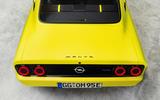 92 opel manta elektromod 2021 official images edit rear end
