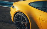 2019 Porsche 911 Carrera S track drive - rear three quarters