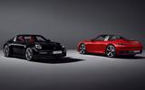 Porsche 911 Targa 992 official images - static studio
