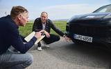 92 Porsche Cayene Turbo Coupe prototype 2022 interview nose