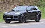 92 Porsche Cayenne 2022 spies front