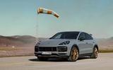 92 Porsche Cayenne GT 2021 official reveal static