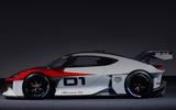 92 Porsche Mission R concept feature studio side
