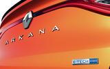 2021 Renault Arkana official European images - rear badge