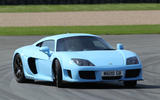 Road test rewind: Noble M600 - cornering front