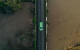 2020 Skoda Enyaq prototype first drive - on the road aerial