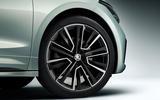 Skoda Enyaq official reveal images - studio alloy wheels