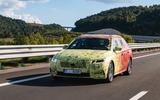 2020 Skoda Octavia prototype camouflaged drive - on the road nose