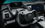 92 Toyota ZEV concept official reveal steering wheel
