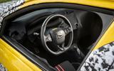 Vauxhall Corsa 2019 prototype drive - cabin