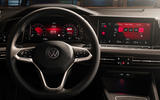 2020 Volkswagen Golf Mk8 official press - instruments