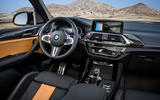 BMW X3M official press - cabin
