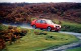 Lancia Integrale 1988 - tracking side