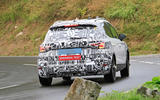 2022 Seat Arona spy images - on the road rear