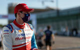 93 Alex Lynn Mahindra Formula E 2021 masks