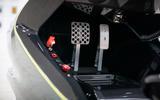 93 Aston Martin AMR C01 simulator tested pedals