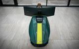 93 Aston Martin AMR C01 simulator tested pod