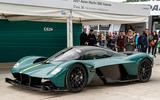 93 Aston Martin Valkyrie Goodwood passenger ride paddock