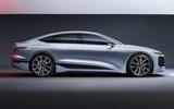 93 Audi A6 E tron Concept official static studio side