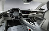 Audi E-tron GT concept 2020 prototype first drive review - cabin