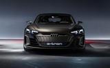 Auto E-tron GT concept official press reveal - static front