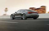 Audi E-tron GT tracking - rear