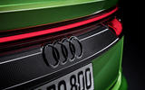 Audi RS Q8 2020 official reveal photos - rear badge