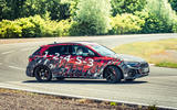 93 Audi RS3 2021 prototype ride drift right