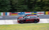 Audi RS Q8 2020 camo ride - track side