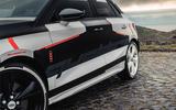 Audi S3 2020 prototype drive - side details