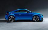 Audi TT RS 2019 facelift - official press images - studio side