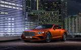 Bentley Continental GT V8 2019 official press - static front