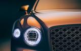 93 Bentley Flying Spur Mulliner official reveal headlights