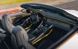 93 Bentley Mulliner Bacalar prototype drive 2021 cabin