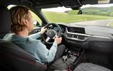 BMW 1 Series 128ti prototype 2020 first drive review - Richard Lane driving