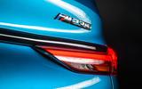 BMW 2 Series Gran Coupé studio reveal - rear badge