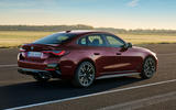 93 BMW 4 Series Gran coupe 2021 official reveal images static rear