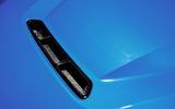 BMW CS 2020 official press images - bonnet vent
