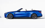 93 BMW M4 Convertible 2021 official reveal side roof down