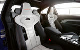 BMW M4 Edition M Heritage official press - cabin white