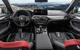 93 BMW M5 CS 2021 official reveal interior