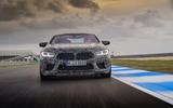 2019 BMW M8 prototype ride - track nose