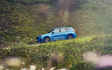 BMW X1 PHEV official press photos - on the road side