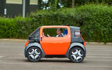 Citroen Ami One concept driven - on the road side