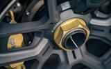 Cyan Volvo P1800 drive - brake calipers