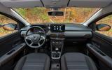Dacia Sandero Stepway 2021 UK official images - interior