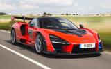 93 fastest cars tested by Autocar McLaren Senna