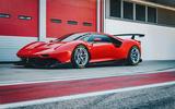 Ferrari P80/C 2019 reveal official pictures - pit lane front